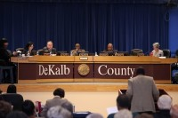 DeKalb's commissioners have yet to fill the District 5 seat with a temporary commissioner. Photo by Travis Hudgons