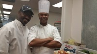 From left, Donald Stone and Anthony Williams are chefs who run a catering business through Shared Kitchens' facility in Decatur. Photos by Gale Horton Gay
