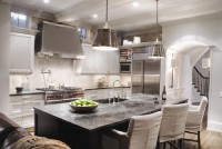 The kitchen in Jack and Ninon Daulton's home is on the Junior League of DeKalb's Tour of Kitchens. Photos provided