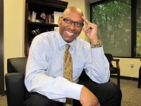 Dr. Cedric Alexander has garnered national attention in his role as DeKalb's deputy chief operating officer for public safety. Photo by Andrew Cauthen