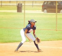 Druid Hills senior Kayla Cato was a member of the Atlanta Reviving Baseball in Inner Cities (RBI) team that won the 2013 RBI World Series title. Photo provided