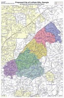 A Conference Committee redrew the boundaries lines for LaVista Hills (above) and Tucker maps before it was passed in the General Assembly.
