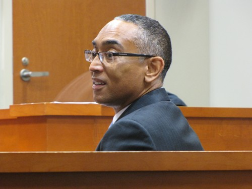 """Suspended DeKalb CEO Burrell Ellis will have to defend against new perjury allegations during his retrial. A judge also ruled that Ellis' team can mention his """"good character and good reputation."""""""