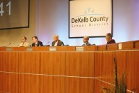 DeKalb Board of Education met on May 4 to discuss the future of the superintendent search.
