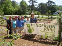 Henderson Park Community Garden Club celebrated its fifth anniversary in April. Photo provided