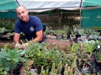 Kurt Straudt of Decatur was the featured speaker June 6 for Mountain Shadow Garden Club with a program on succulents.  Photo provided