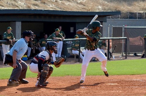 London Lindley (at bat) was drafted by the Texas Rangers. Photos by Jay Kapp