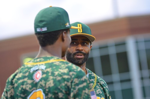 The Brookhaven Bucks hired former MLB player Corey Patterson to coach this season.