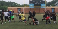 Law enforcement flag football team prepares for benefit game
