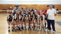 Dunwoody won the Spikefest Tournament after beating Lakeside 2-0. Photo provided