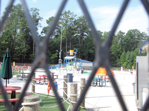 Browns Mill Aquatic Center was temporarily closed after a near drowning on July 29. The county discovered that it had not checked the certifications for all of the lifeguards. Photo by Andrew Cauthen