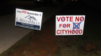 Cityhood proponents, opponents make their cases to voters