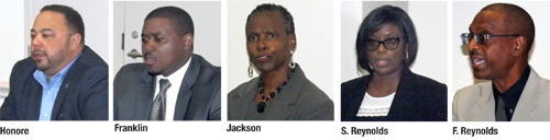 Lithonia candidates share platforms at forum
