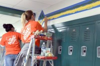 Home Depot aims to assist in community efforts in every community that they occupy.