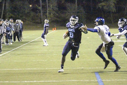 Cedar Grove's Elysee Mbem-Bosse scored two touchdowns—one on offense and one on defense.