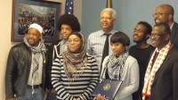 Congressman Hank Johnson hosted the top three students of his inaugural App Challenge. Photos by Carla Parker
