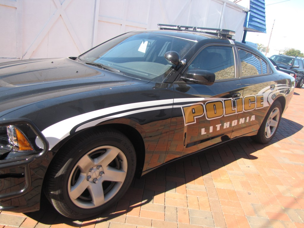 Lithonia police car