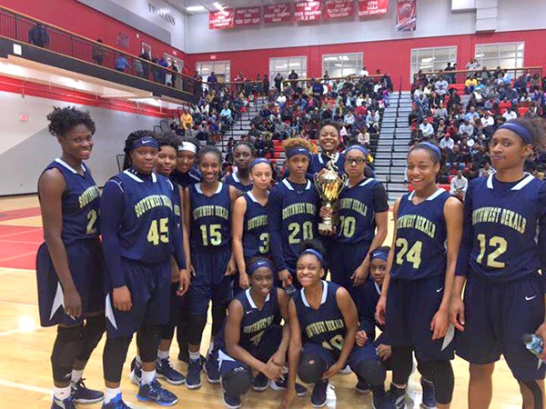 Southwest DeKalb Lady Panthers earned a No. 1 seed after beating Mays 64-48 in the Region 6-AAAAA title game.