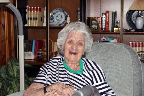 Barbara Makris has been getting meals delivered to her home for a decade.
