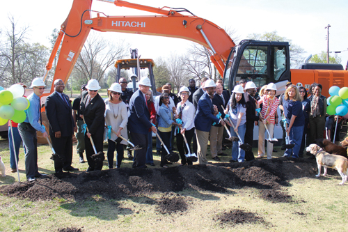 County breaks ground on new animal shelter