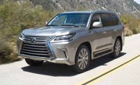 New technology showcased in 2016 Lexus LX570