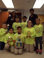 The Hightower Highbots, made up of Bryce Marshall, Brenda Sanchez, Nasir Sheikh, Katherine Portillo, Andy Quintanilla, Orlando Gama and Sebastian Ramirez, have greatly benefited from STEM programs.