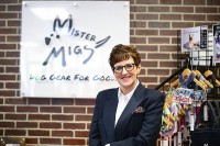 Karen Lynn, founder and president of Mister Migs. Photos by Travis Hudgons