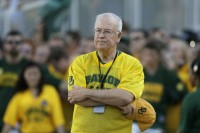 Baylor president Kenneth Starr was demoted to chancellor