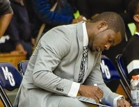 Former Miller Grove assistant coach Rasul Chester is now the head coach of the boys' basketball program. Photo from @MillerGroveHoop