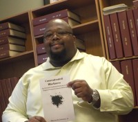 Local author Marcus Johnson's new book Concentrated Blackness proposes Black communities come together financially, physically and politically.