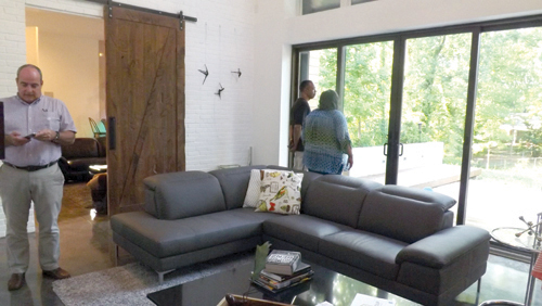 An open house was held at the home July 28 for people interested in a zero energy ready home. Photos by Carla Parker