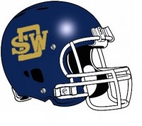 SWD football helmet