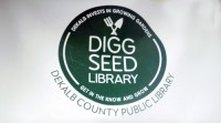 Library sowing seeds in DeKalb County