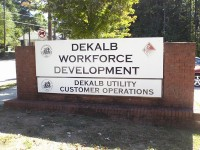 DeKalb County's employment office. In August, Georgia's jobless rate dropped below 5 percent, according to the state's Department of Labor.