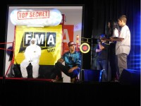Stone Mountain Middle School hosted FMA Live! on Oct. 5, an award-winning, hip-hop based science, technology, engineering and mathematics (STEM) interactive concert.