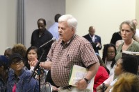 DeKalb County resident Joe Arrington said his water bills have increased 300 percent in the last 18 months.