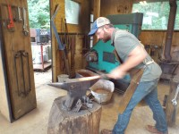 Local blacksmith, church make international difference