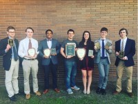 Marist School's debate and speech program was named among the top 8 percent in the country by the National Speech & Debate Association (NSDA) and gained entry into the organization's 200 Club. Photo courtesy of Marist School.
