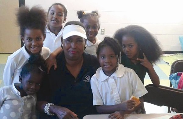 "Patricia ""Ms. Pat"" Jackson, a program director at East DeKalb Boys & Girls Club in Lithonia, recently celebrated 45 years of service within the Boys & Girls Club organization, a career that began in 1971. Photo submitted."