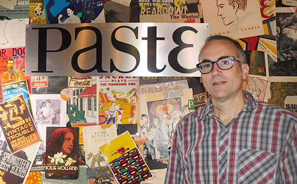 Josh Jackson promises the new Paste Quarterly will be unlike other magazines. Photo by Kathy Mitchell