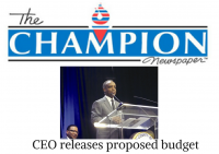 DeKalb CEO Michael Thurmond released a proposed budget for the 2017 fiscal year. The budget will address funding for police and fire.