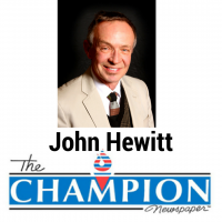 John Hewitt's Opinion Piece for Champion Newspaper