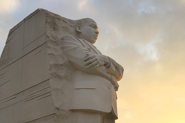 Honoring Martin Luther King Jr. through service and commemorations - Photo by Carla Parker