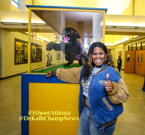Southwest DeKalb alumna Mia Mason Porter started a Go Fund Me account to help raise money to purchase the rings.
