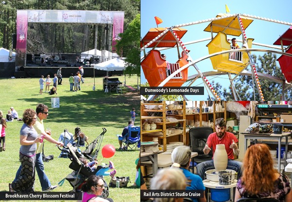 Spring is almost here–Perfect time for a festival or outdoor activity. Photos by Travis Hudgons