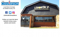 A DeKalb County business owner says Lemon Drop Bar and Grill is operating illegally but county  officials say it is not.