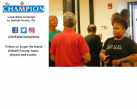 A DeKalb voter registration official said thousands of people were turned away after finding out they did not live in District 6 to be able to vote.