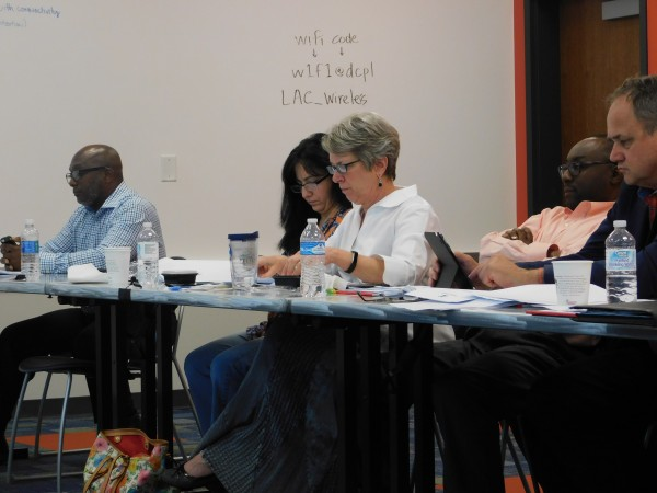 DeKalb County commissioners discussed the possibility of new provisions for SPLOST under Senate Bill 156 at the DeKalb County Board of Commissioners legislative retreat April 14.