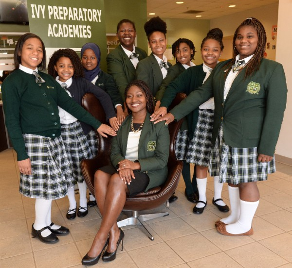Ivy Preparatory Academy Kirkwood School for Girls experienced a 400 percent increase in enrollment for the 2017-2018 school year, crediting changes in the overall atmosphere and teacher retention as sources of improvement. Photo submitted.