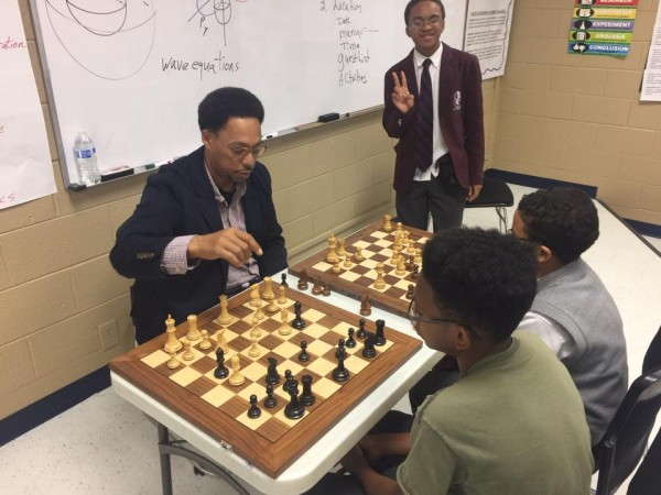 According to Frank Johnson, a chess teacher teaching chess in the DeKalb County area, the game of chess can help young adults with life decisions.